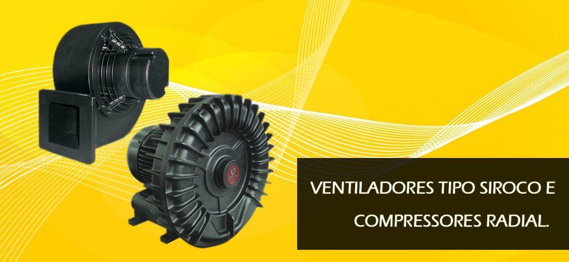 ventiladores Siroco Compressores Radial