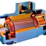 Manutenção de motor corrente continua